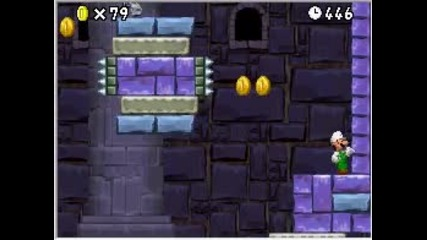 Nsmb - world 8 Mini bowser`s castle
