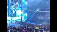 John Cena излизането на Wrestlemania 25