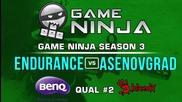 Game Ninja CS:GO #2 - Endurance vs Asenovgrad #1