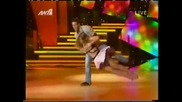 Kostas Martakis & Maria - Rock'n'roll marathon! Dancing with the stares Greece (s02e11)