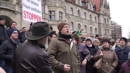 Germany: Protesters in Hanover condemn alleged sexual abuse of 13 y/o girl