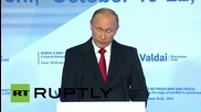 "Russia: Putin warns that WMD rivalry could become ""uncontrollable"""