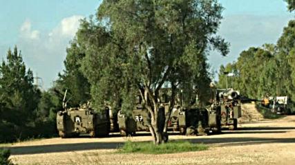 Израел разположи танкове по Ивицата Газа