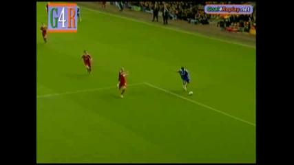 08.04 Ливърпул - Челси 1:3 Дидие Дрогба гол