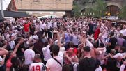 UK: Fans burst into celebration as England beats Tunisia 2-1