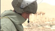 Syria: Sappers continue mine clearance op in Palmyra
