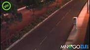 Пътна камера бяга от полицията