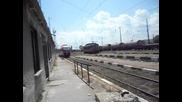 Бв 5681 заминава от гара Дупница