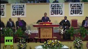 USA: Al Sharpton speaks at funeral of Chaleston victim Sharonda Singleton