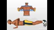 Упражнение за гърди (лицеви опори - Killer stype)