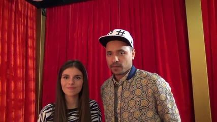 Dancing Stars - Вензи и Дивна (10.04.2014г.)