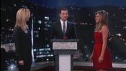 Jennifer Aniston vs. Lisa Kudrow in Celebrity Curse Off