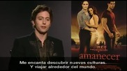 Antena3_ Breaking Dawn Promo Madrid