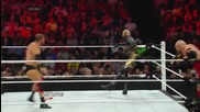 R-truth & Goldust vs. Ryback & Curtis Axel: Raw, June 9, 2014