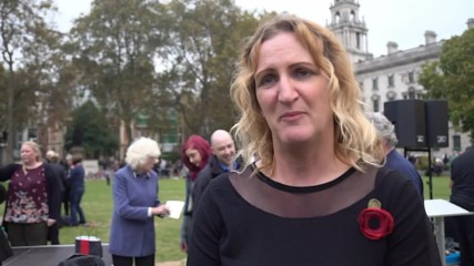 UK: Hundreds of soldiers rally in support of convicted murderer 'Marine A'