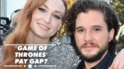 Sophie Turner admits getting paid less than her male co-star