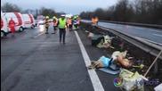 Българи пострадаха при катастрофа в Австрия