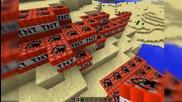 Minecraft експлозия и взривяване на животни xd