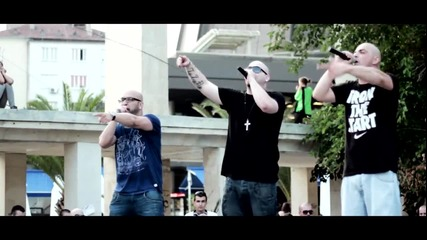 Sarafa - 50 stotinki feat Big Sha & Consa, Varna, 04.07.2013 Live
