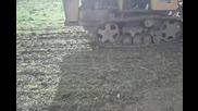 оране с болгар т-54