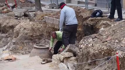 ВиК дейности рушат разкопките във Варна