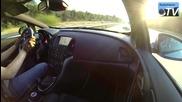 Ускорение на Opel Astra 2014 Opc 2.0 Turbo 280hp 0-270 km/h