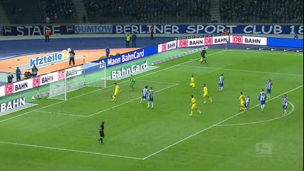 Херта Берлин - Хофенхайм 0-5