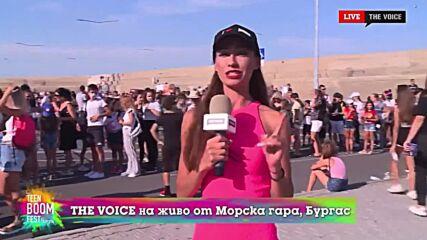 THE VOICE LIVE от TEEN BOOM FEST 2021: Ева на живо няколко часа преди началото (21/08/2021) [14]