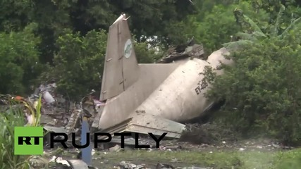 South Sudan: At least 41 killed after cargo plane crashes in Juba *GRAPHIC*