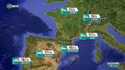 Прогноза за времето на NOVA NEWS (28.04.2021 - 10:00)