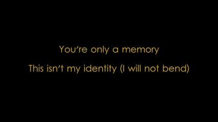 Icon For Hire - Only a memory w/ lyrics