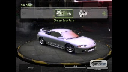 Nfs Underground 2 - How To Make Fast And Furious Eclipse