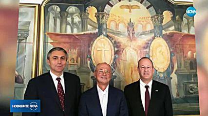 Ахмед Доган се срещна с посланика на САЩ в централата на ДСП