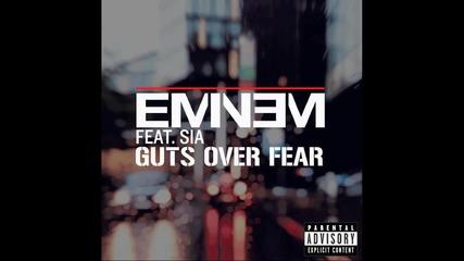 Eminem - Guts Over Fear ft Sia (offical Audio)