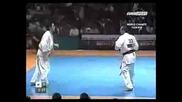 Shin / Кyokushin 8th World tournament 2003 1 / 4 final