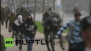 Chile: Police use water cannon as clashes erupt during university funding protest