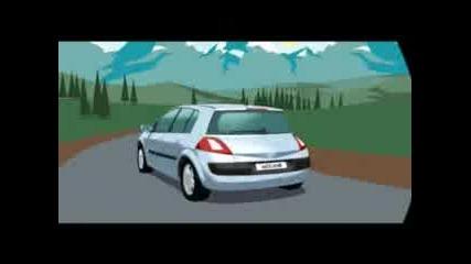 Renault Анимация