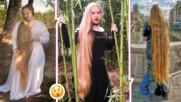 Истинска Рапунцел! Стефи е момичето, което не виждало фризьор от 15 години
