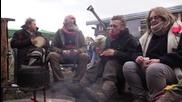 UK: Vivienne Westwood joins anti-fracking activists at Upton protest camp