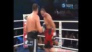 Кубрат Пулев с 13-та победа срещу Максим Педюра - рунд 6,7,8