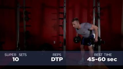 Kris Gethin 12 Weeks Trainer - Week 10 - Day 66 - Wednesday