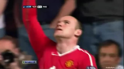 Chelsea 0 - 1 Manchester United - Wayne Rooney