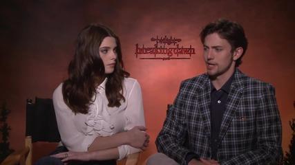 Ashley Greene & Jackson Rathbone Interview