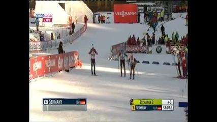 Щафетата ни на 17-о място във Франция, победата е за Русия