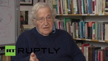 US: Chomsky slams US media over double-standards