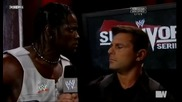 Backstage с Wade Barrett и Аwesome Truth - Survivor Series 2011