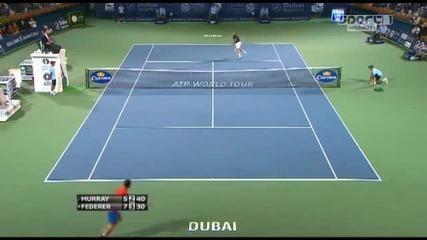 Рождър Федерер спечели Atp Dubay 2012 , след като надигра Анди Мъри