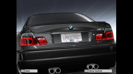 Need For Speed Prostreet B M W E46 M - power