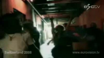 Швейцария - Песен За Евровизия 2008