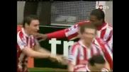 Стоук Сити - Арсенал 3:1 - Уайтхед 86